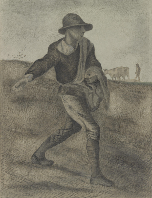 Винсент Ван Гог. Сеятель (по мотивам Милле)