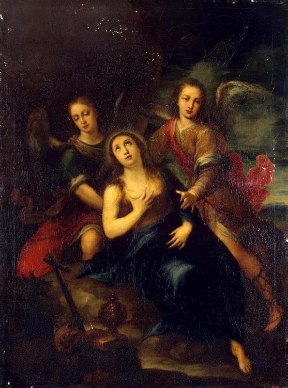 Франсиско де Солис. Мария Магдалина и Ангелы