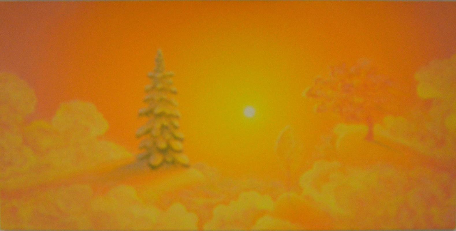 Victor Nikolayevich Zavarovsky. Winter sun