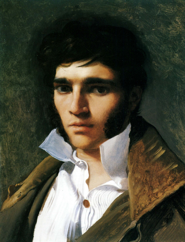 Jean Auguste Dominique Ingres. Paul Lemoyne