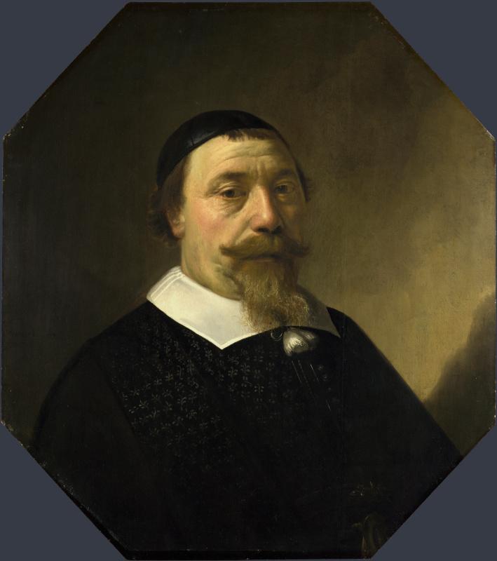 Альберт Кейп. Портрет бородатого мужчины