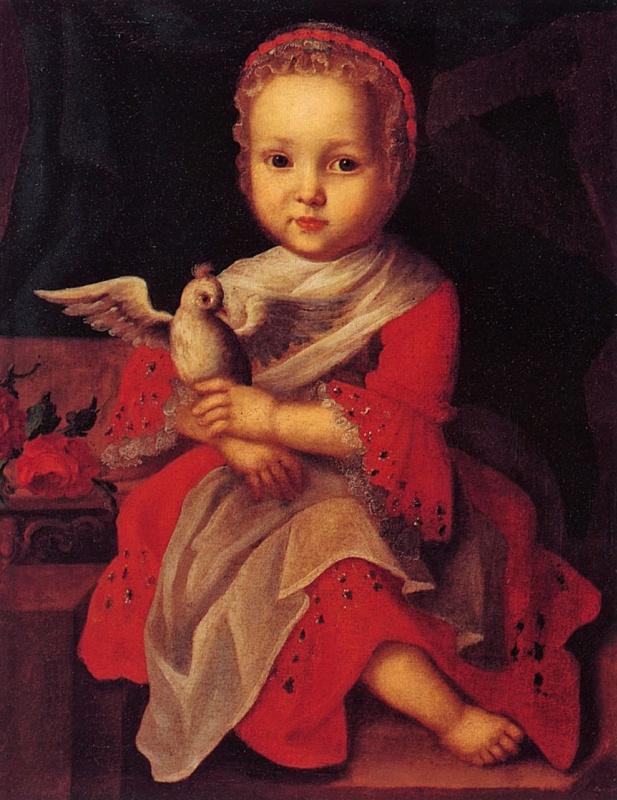 Ivan Yakovlevich Vishnyakov. Girl with a bird