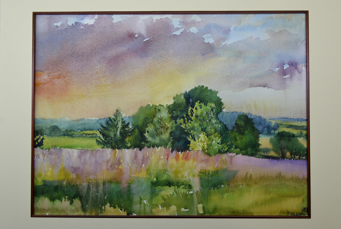 Oksana Dolgushina. Evening colors