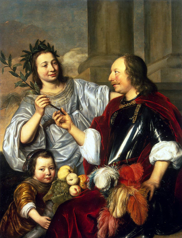 Jan de Bry. Allegorical family portrait