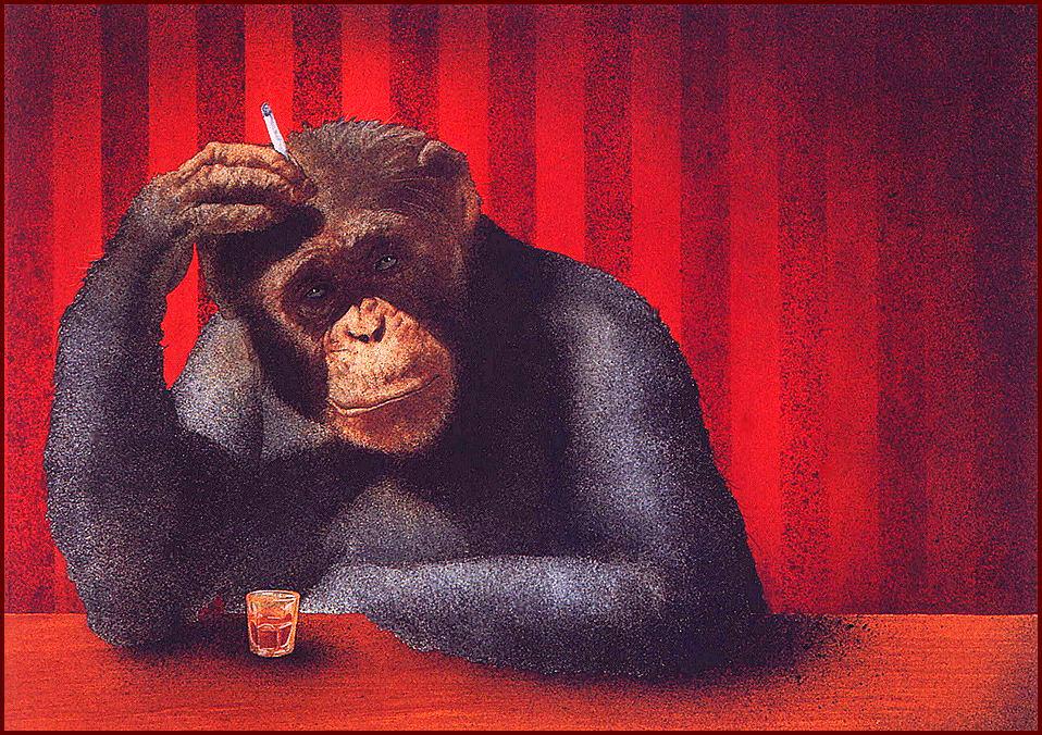 Уилл Буллас. Барная обезьяна