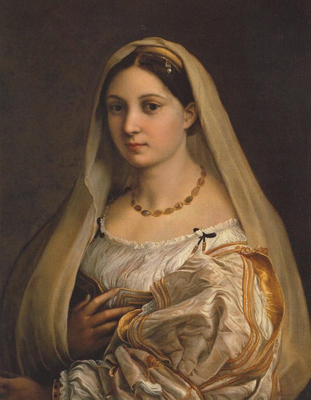 Донна Велата (Женщина под покрывалом, портрет Форнарины)