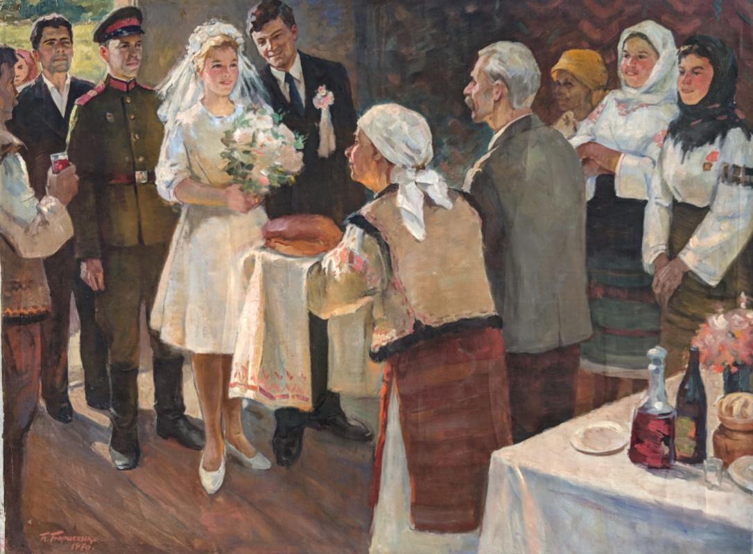 Pavel Fedorovich Borisenko. Wedding