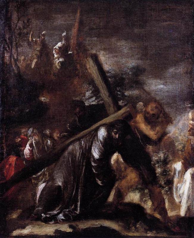 Хуан де Вальдес Леаль. Несение креста