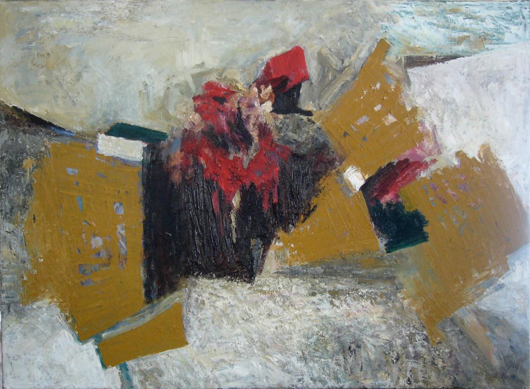 "Ekaterina Lebedeva. ""The landscape. The snow and clay"""