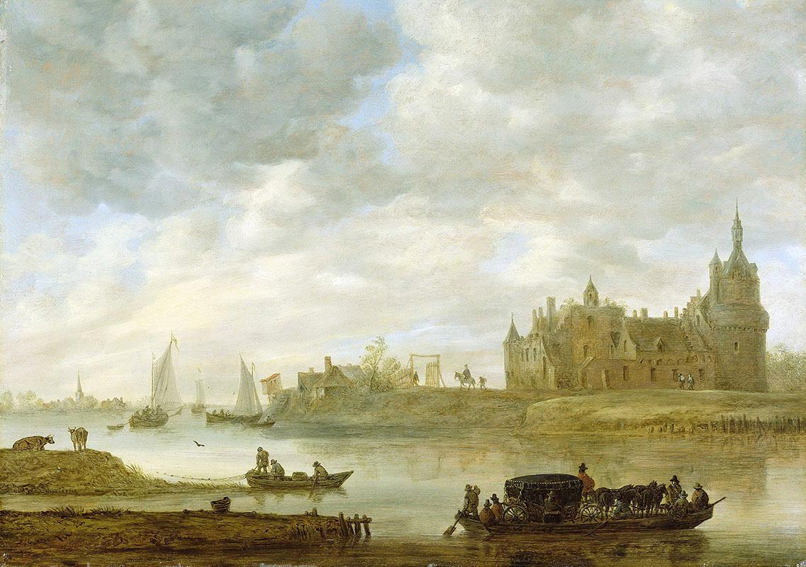 Jan van Goyen. Castle Wijk in Duurstede