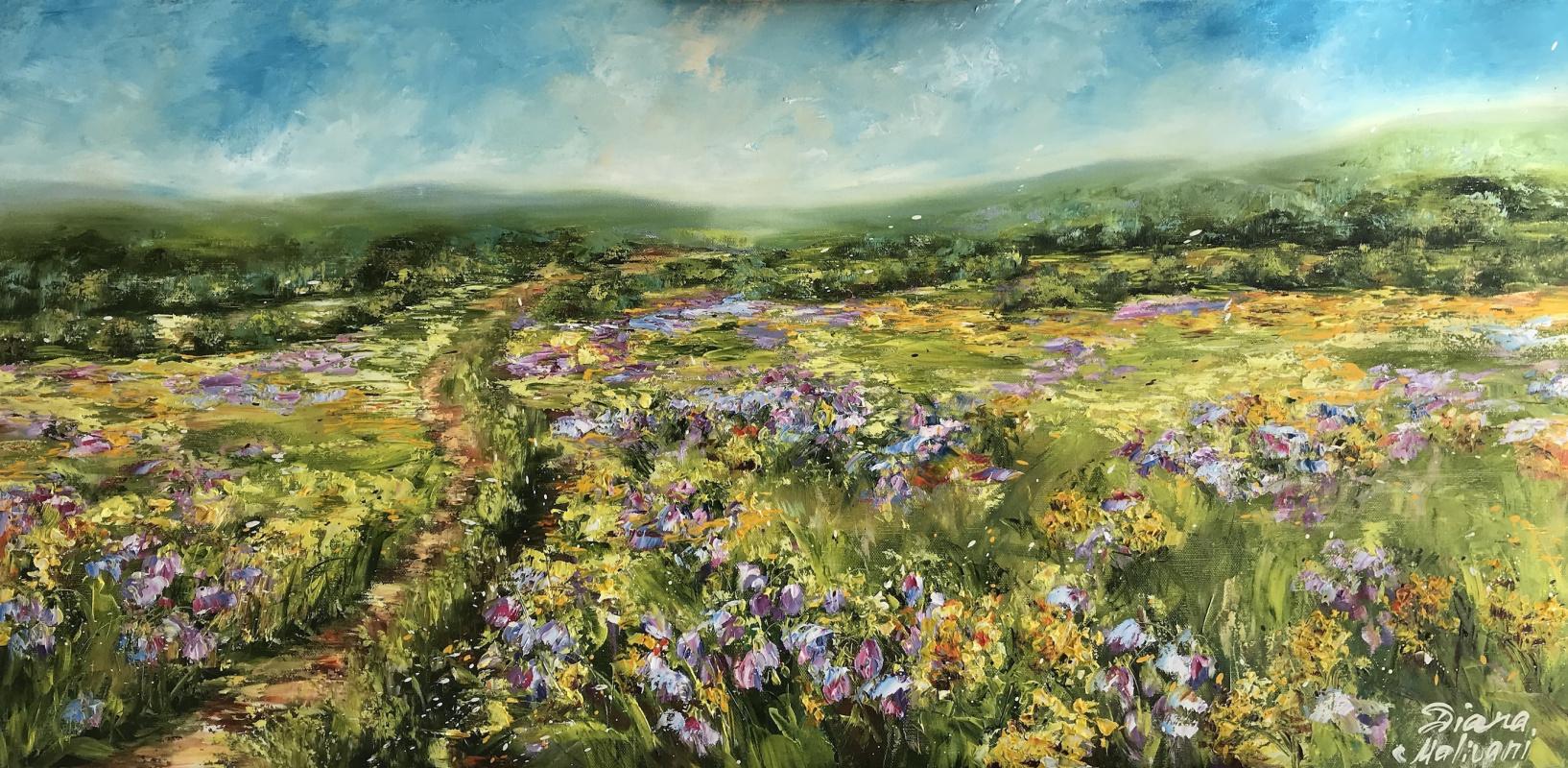 Диана Владимировна Маливани. A Path in the Bluebells