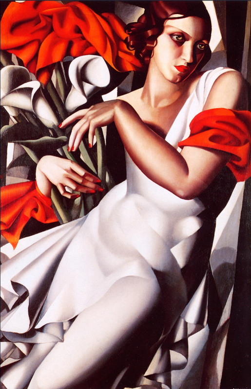 Tamara Lempicka. Portrait of Ira P.