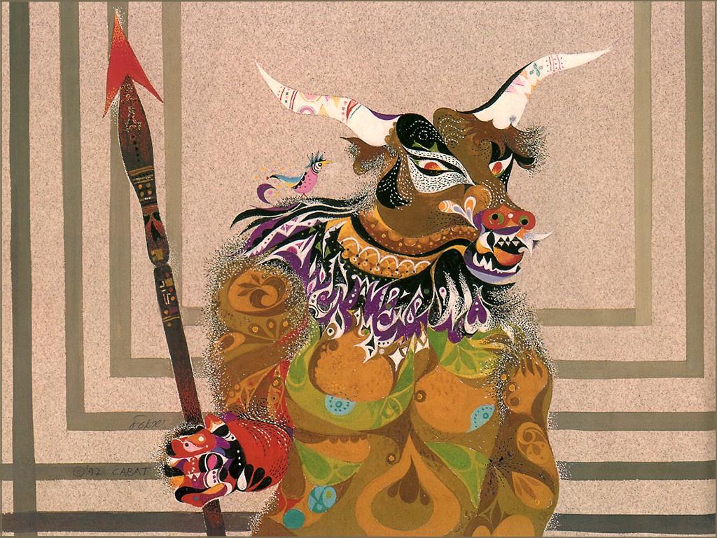Ernie Kabat. The Minotaur