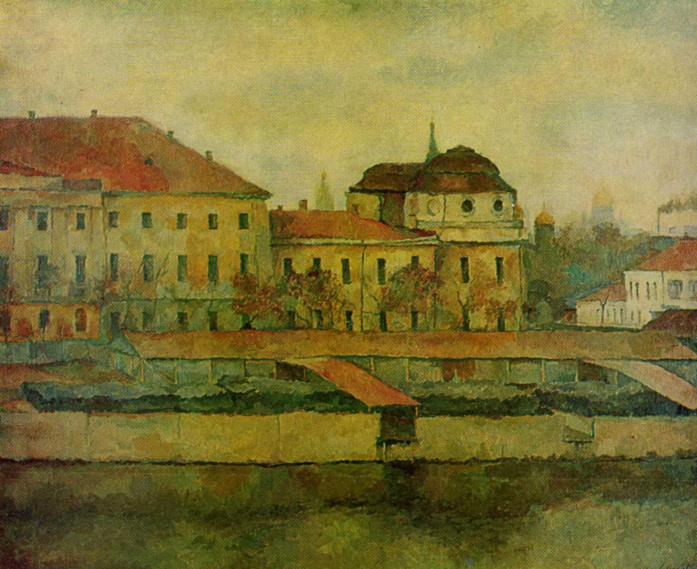 Anatoly Adrianovich Lebedev-Shuisky. Moscow. The Palace Of Biron. Autumn.