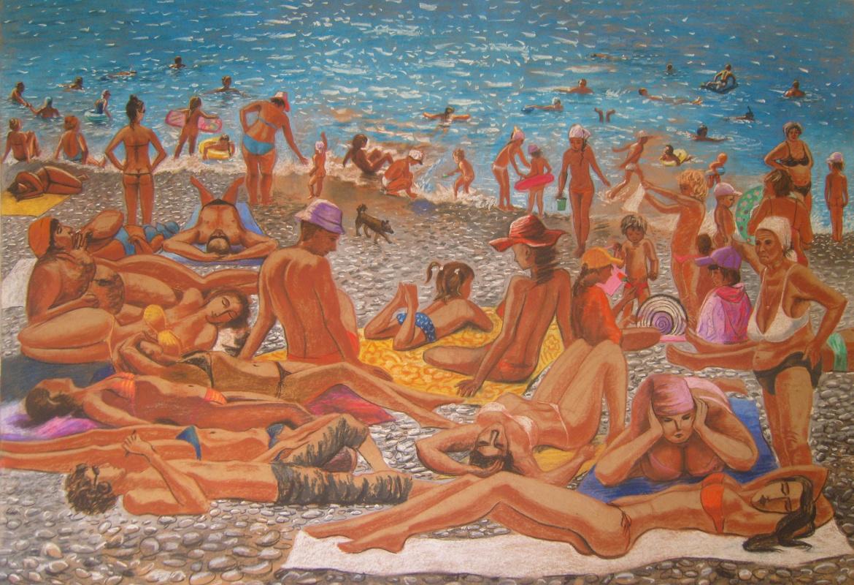 Анастасия Павлова. Пляж