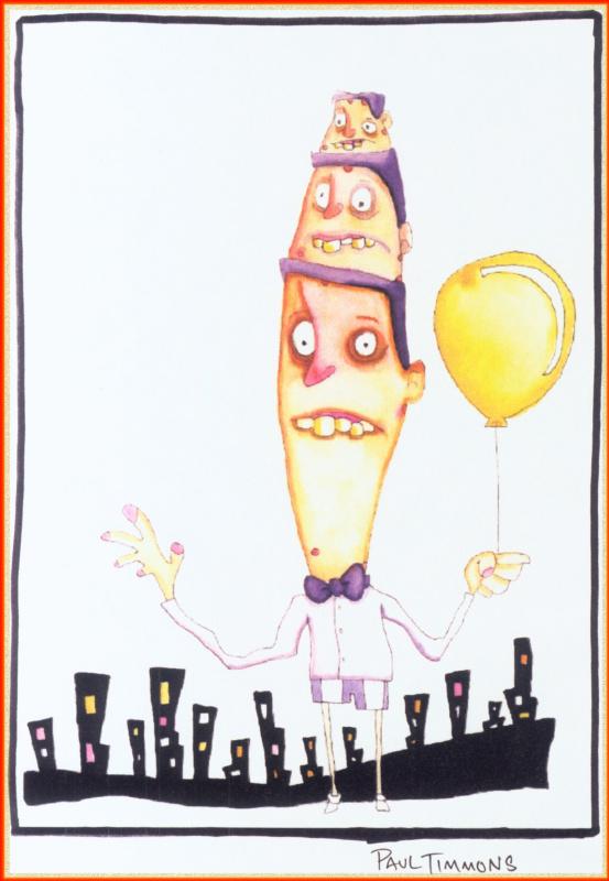 Пол Тиммонс. Воздушный шар
