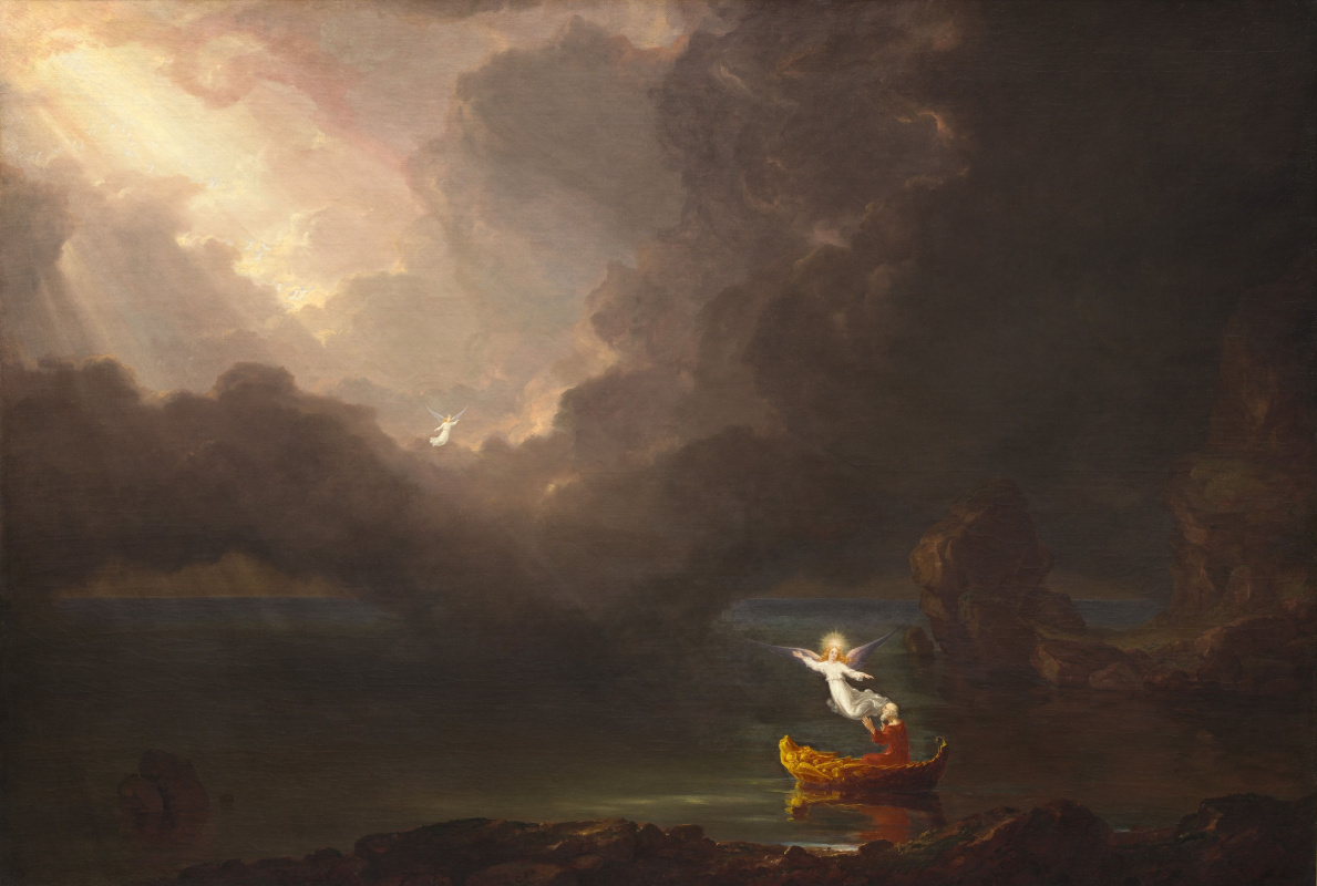 Thomas Cole. The journey of life. Old age