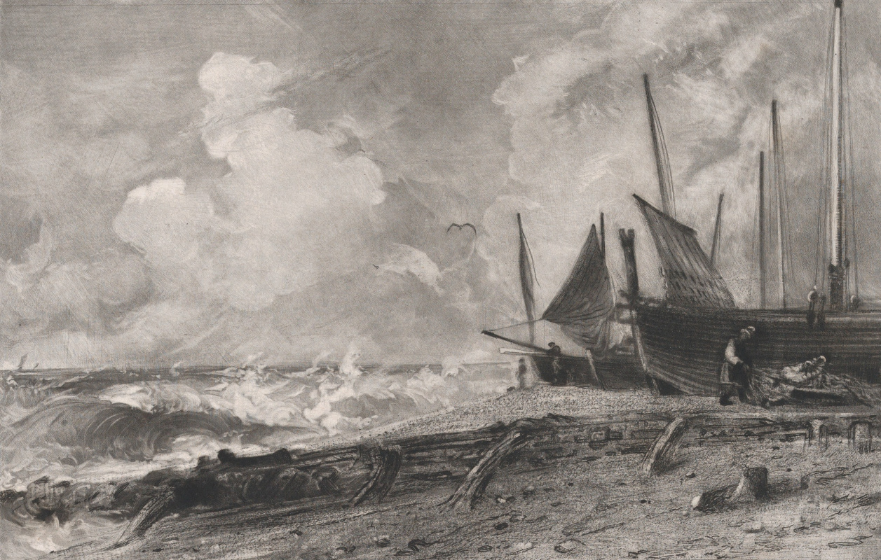 John Constable. The coast