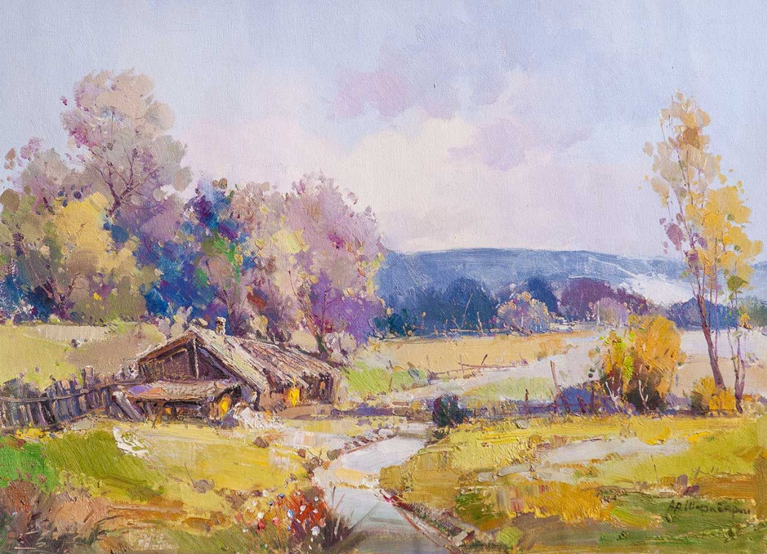 Andrey Sharabarin. Country house
