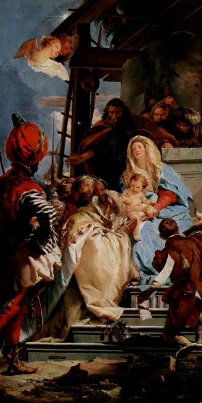 Giovanni Battista Tiepolo. Worship of kings