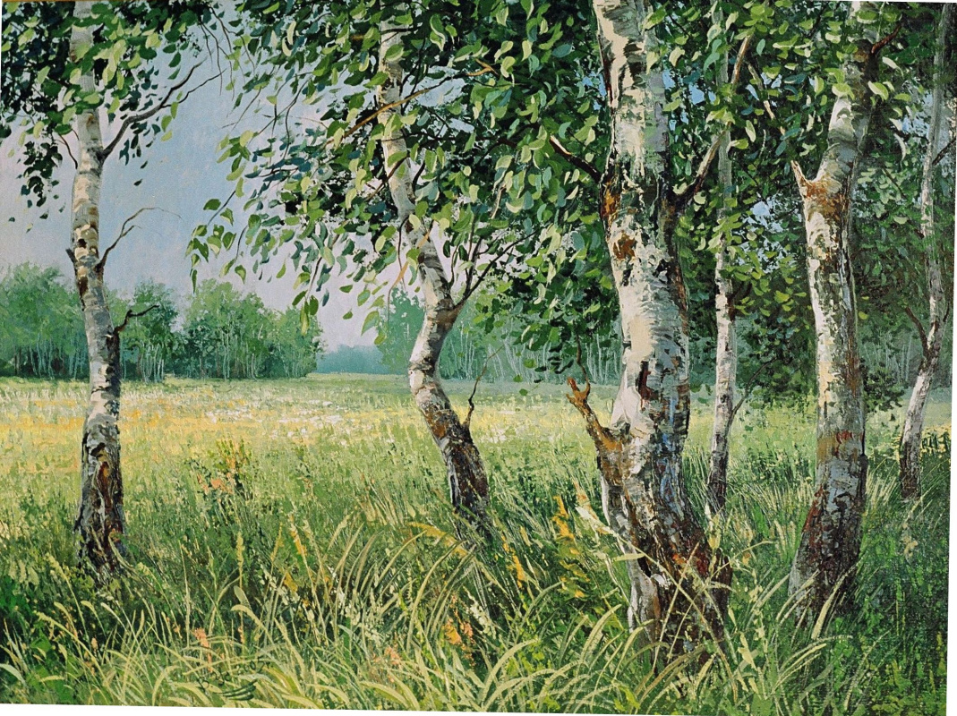 Vladimir Ustalov. Cool birch