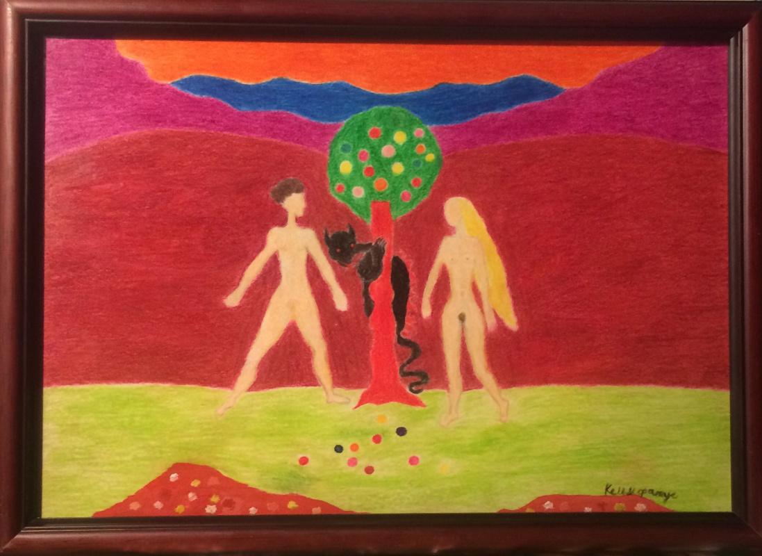 Arne Kelmfatus. Adam and Eve