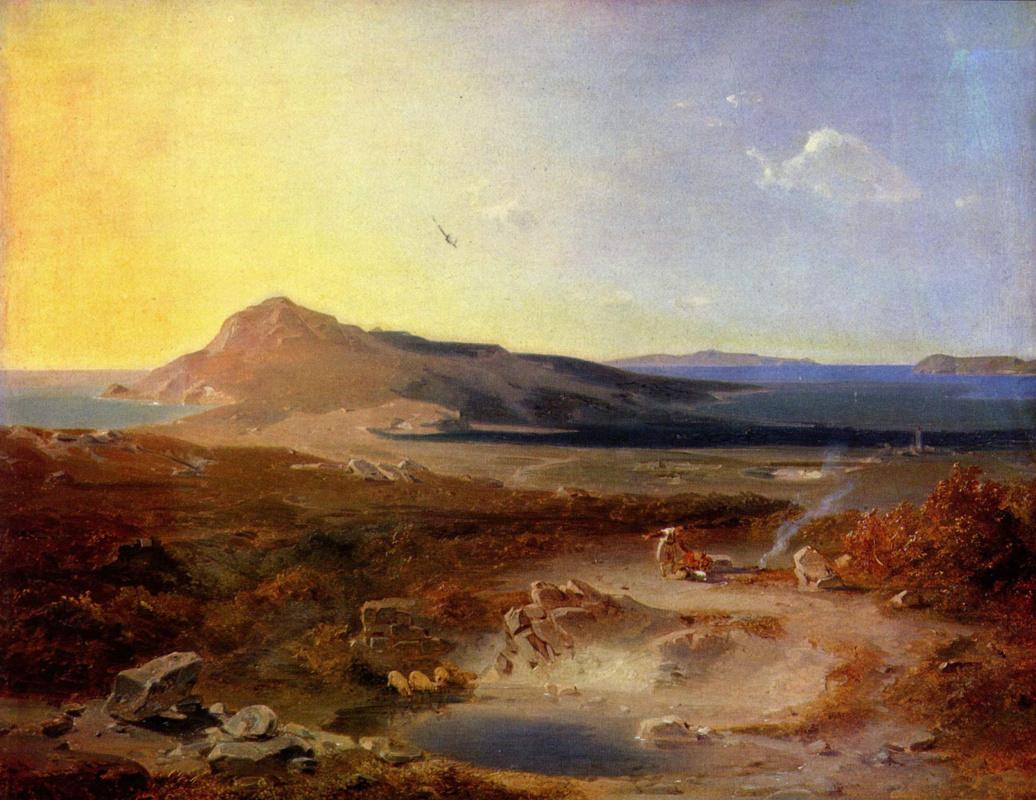 Carl Anton Josef Rotman. The Island Of Delos
