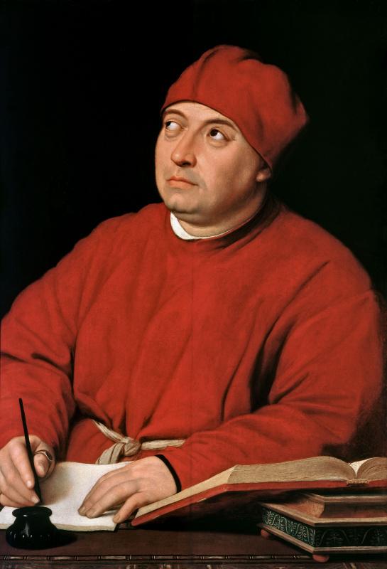 Рафаэль Санти. Портрет кардинала Томмазо Ингирами