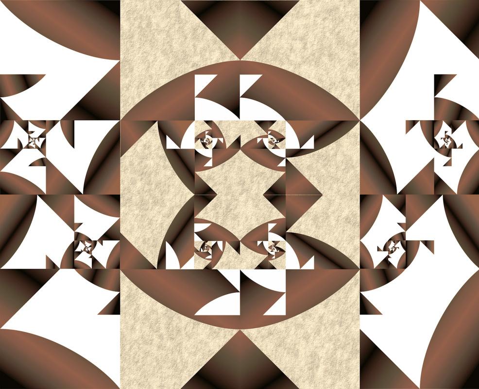 "Юрий Николаевич Сафонов (Yury Safonov). ""Geometric surrealism"" - the fractality of Fibonacci numbers"
