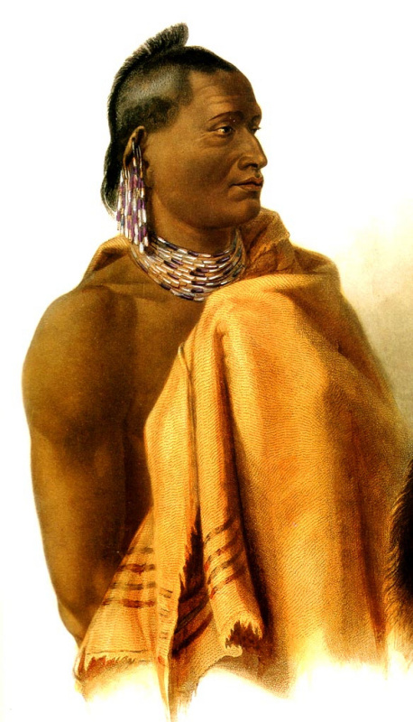 Карл Бодмер. Индеец Миссури
