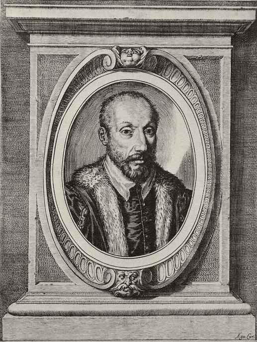 Агостино Карраччи. Мужской портрет