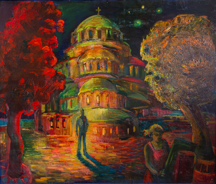 Екатерина Антропова. Храм