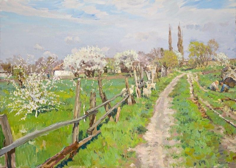 Yuri Krotov. Spring in Hryvnia.