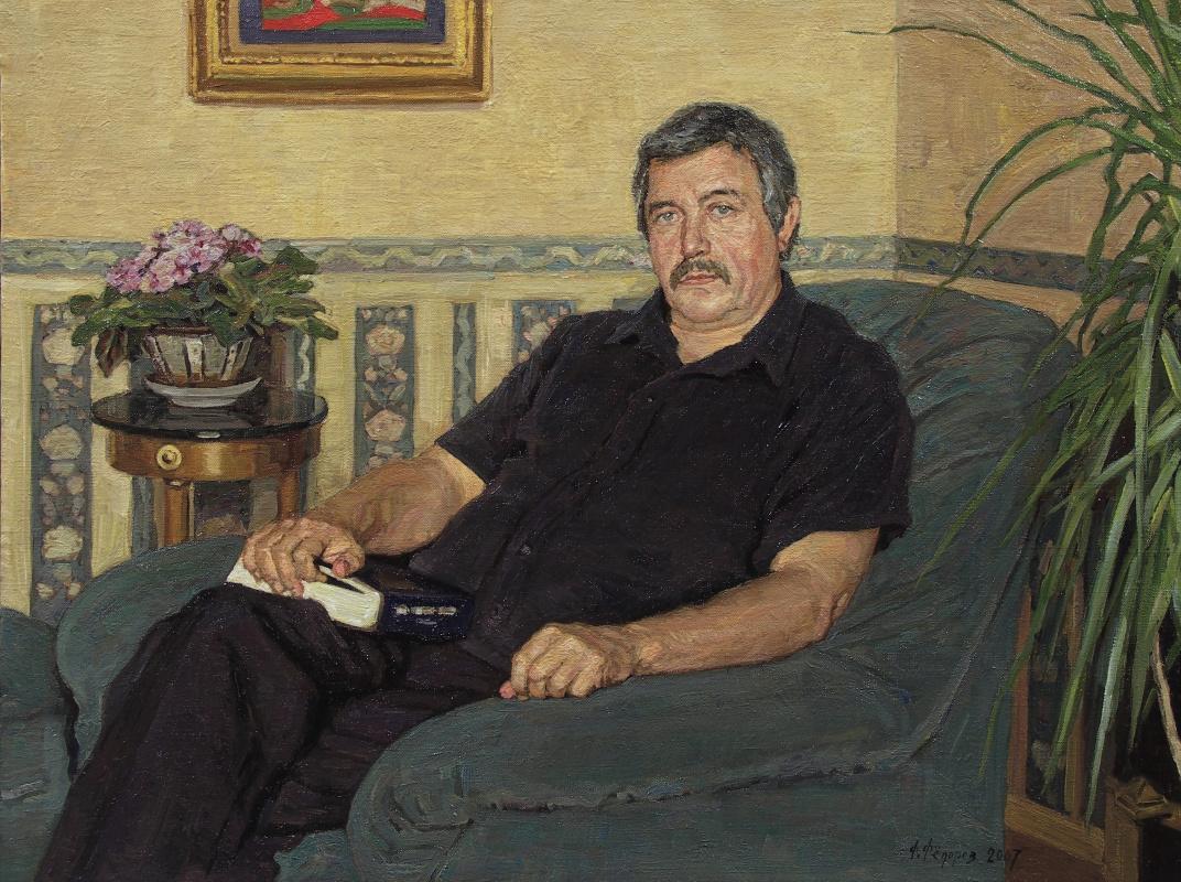 Фёдор Борисович Фёдоров. Portrait of Professor Viktor Vladimirovich Ivanov