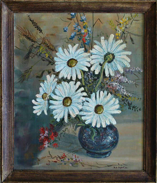 Nikolay Vasilievich Perov. Field bouquet