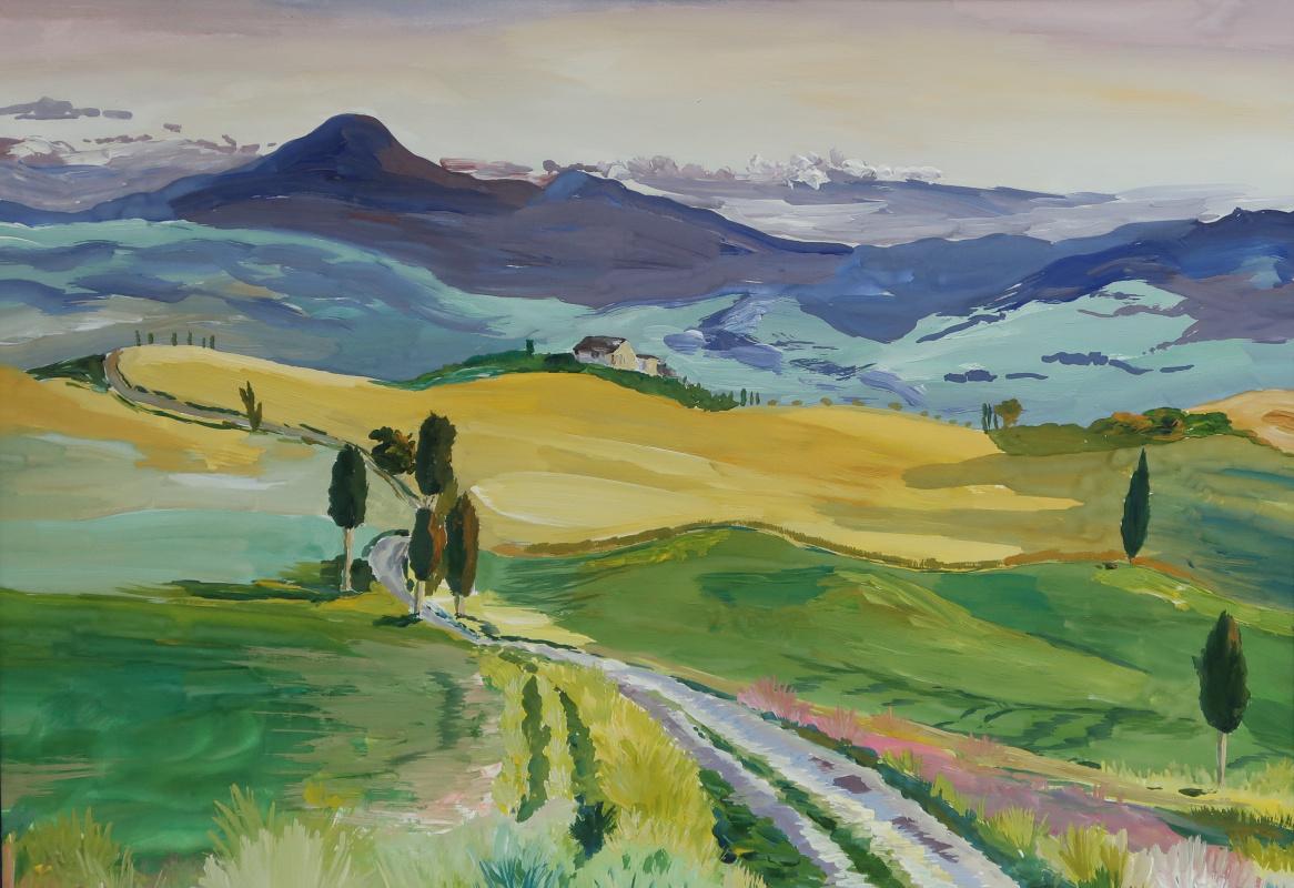 Никита Верховых. Итальянский пейзаж