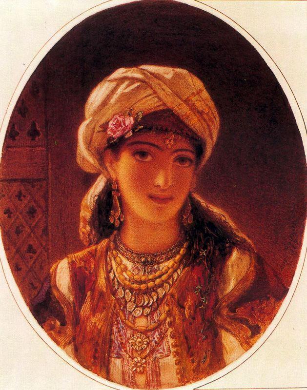 Видение востока. Женский портрет