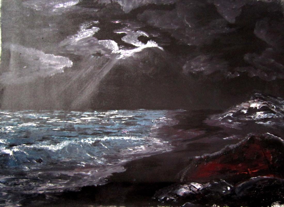 Дмитрий Юрьевич Буянов. Night on the island of Buyan