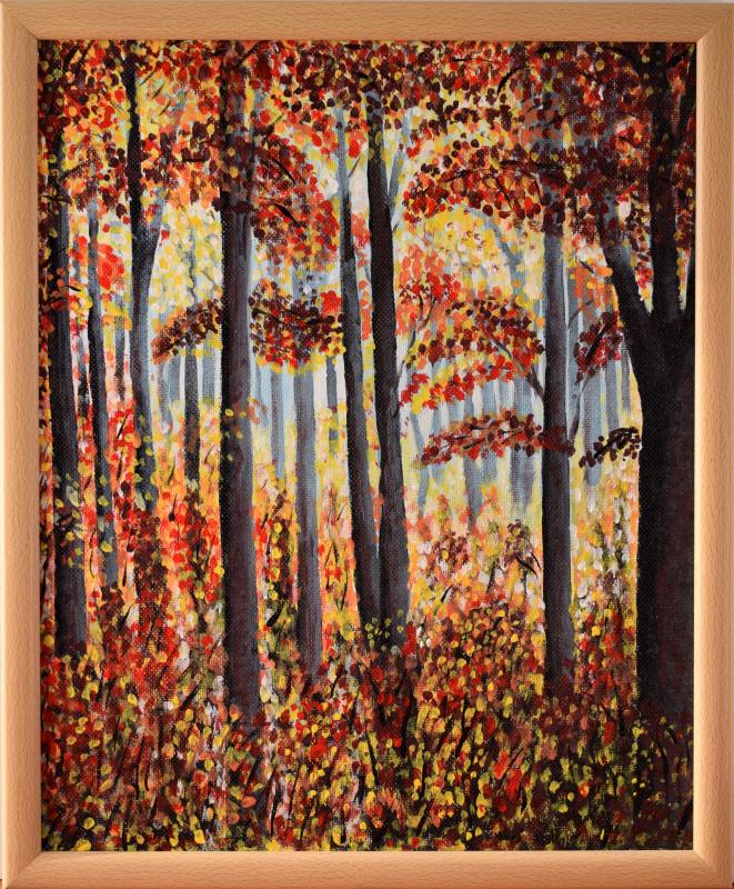 Arnold Gerontidi. Autumn forest
