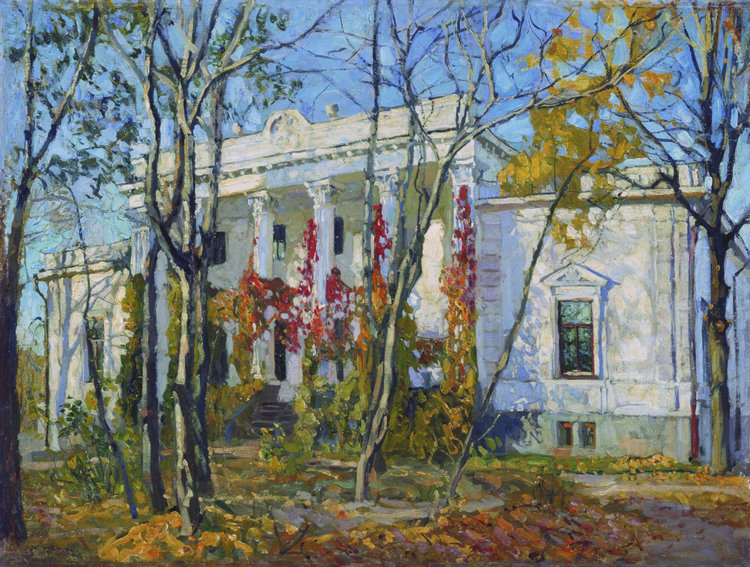 Stanislav Yulianovich Zhukovsky. The princely house in the fall
