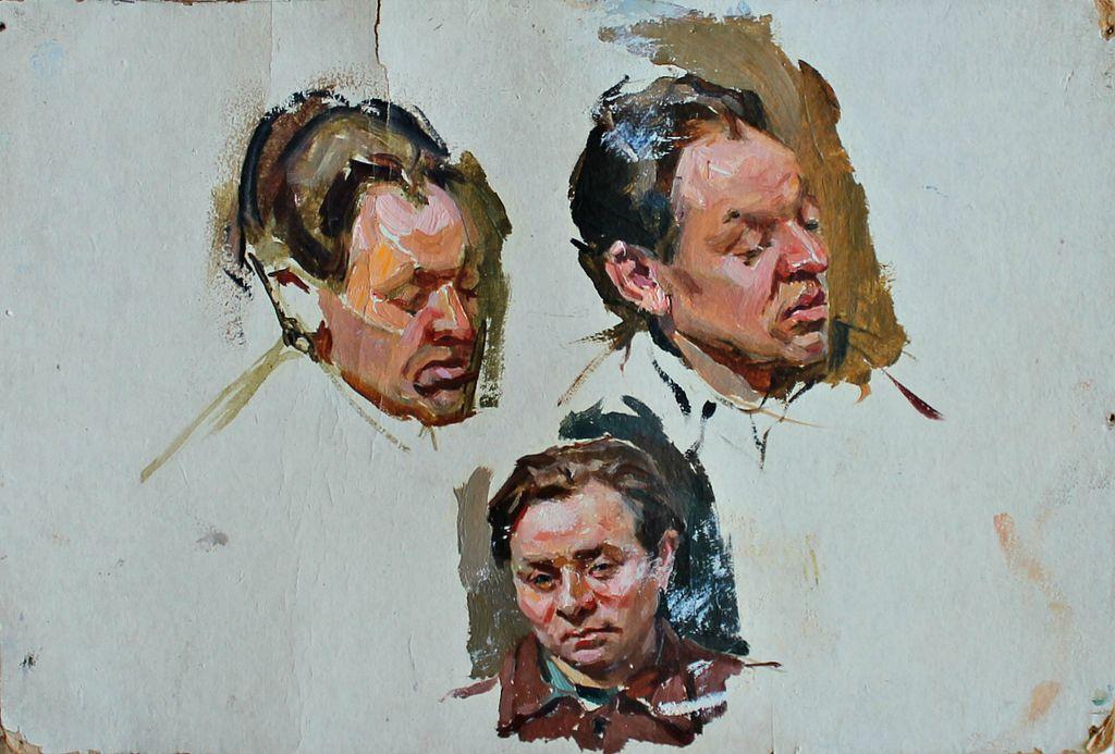Petr Filippovich Alberti. Portraits