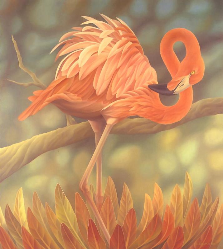 Лаура Риган. Американский фламинго