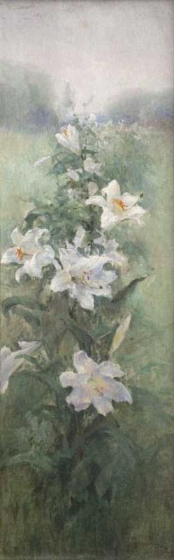 Вильгельм Александрович Котарбинский. Белые лилии