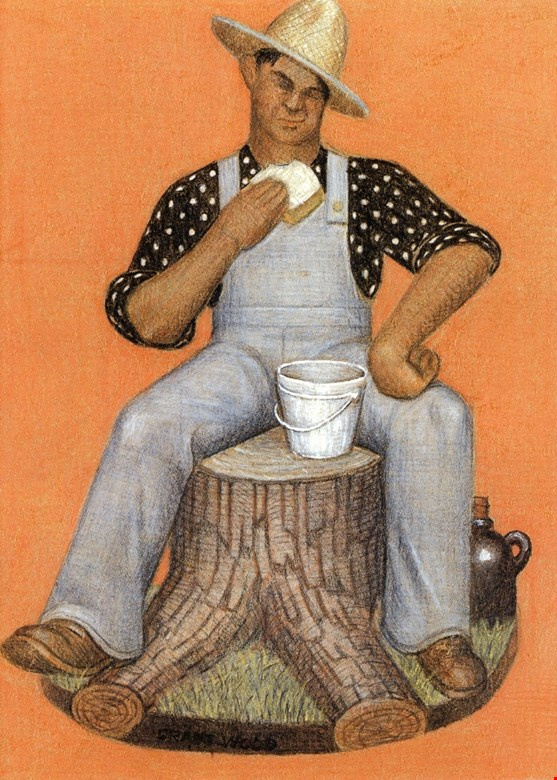 Grant Wood. Laborer
