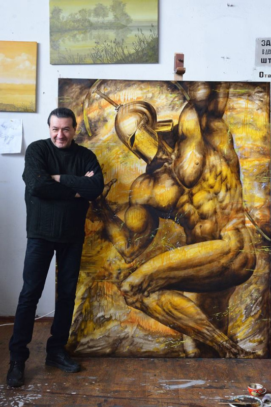 Валерий Крамаренко. Дискобол