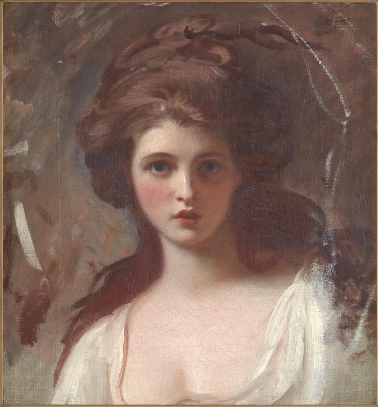 George Romney. Lady Hamilton as CIRCE