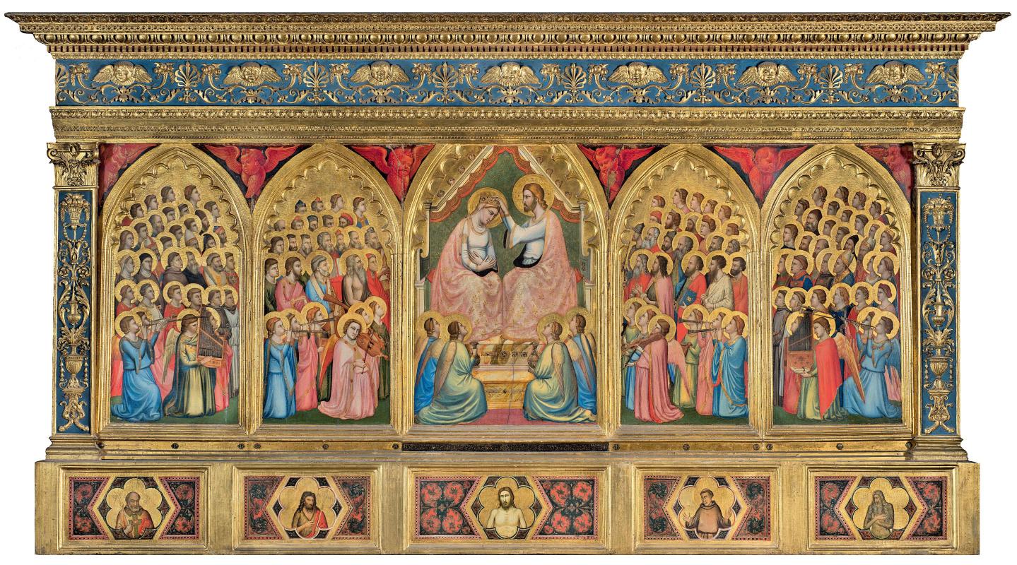 Giotto di Bondone. Polyptych of Baroncelli