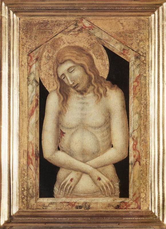 Pietro Lorenzetti. The man of sorrows