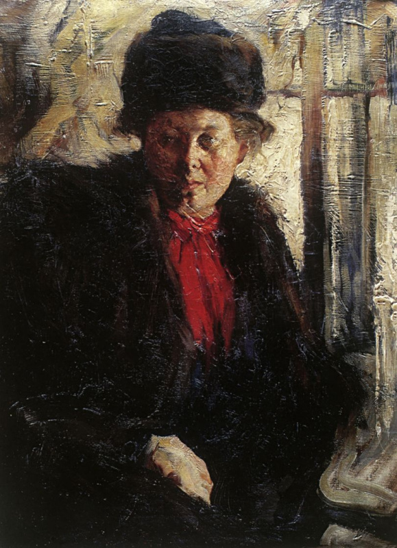 Nikolay Ivanovich Feshin. Female portrait