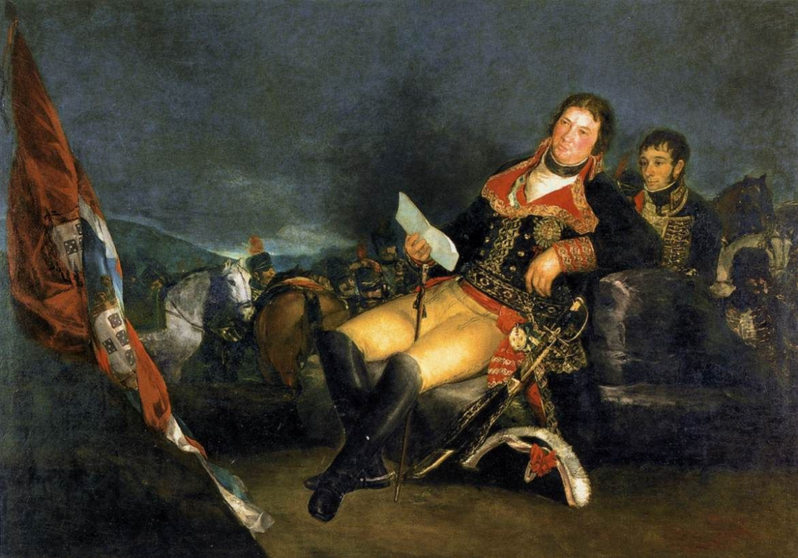 "Francisco Goya. Manuel Godoy, Duke of Alcudia, ""Prince of Peace"""